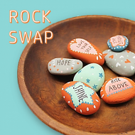 Inspirational Rock-Swap Project