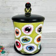 Monster Eyes Candy Jar