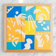 DIY Painted Puzzle with Pearls™