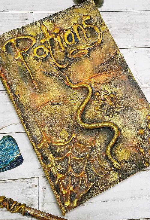 3-D Book of Potions