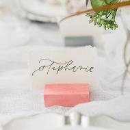 DIY Wood Place Card Holders