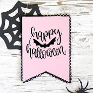 DIY Pastel Halloween Sign