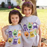 DIY Halloween Monster T-Shirt