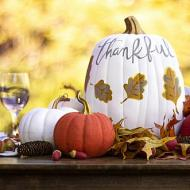 Pumpkin Centerpiece Set