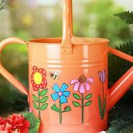 Springtime Watering Can and Pots
