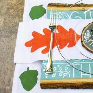 Fabric Painting | Woodlands