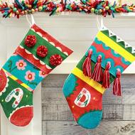 Playful Christmas Stockings