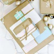 Pretty DIY Wrapping Paper