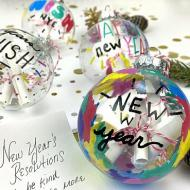 New Year's Wish Ornaments