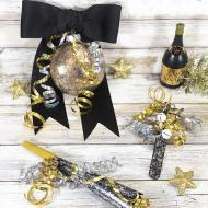 Upcycled New Year's Eve Noisemaker