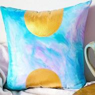 Fabric Painting | Faux Watercolor