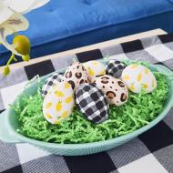 Buffalo and Leopard Easter Eggs