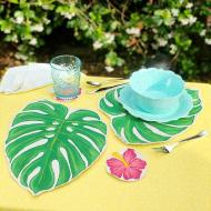 Fabric Painting |Tropical Placemat