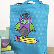 Wise Owl Book Bag