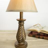 Brown Metallic Lamp