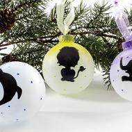 Animal Silhouette Ornaments