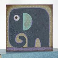 Elephant Mixed Media