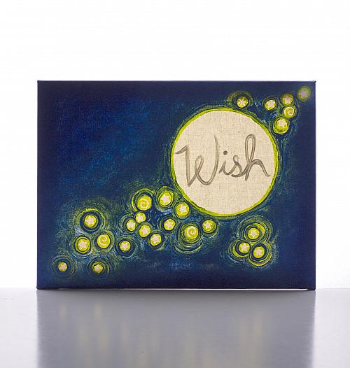 Wish Upon A Star Canvas Light Art Project By Decoart