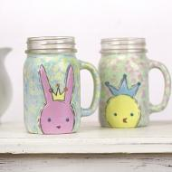 Bunny and Chick Mugs