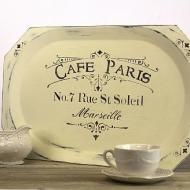 Distressed Cafe Tray