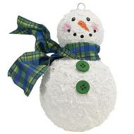 Buttoned Up Snowman