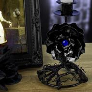 Black Rose Candleholder