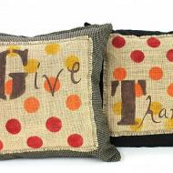 Give Thanks Pillow Set