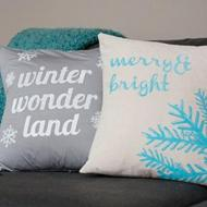 Merry and Bright Pillows