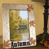Metallic Autumn Frame