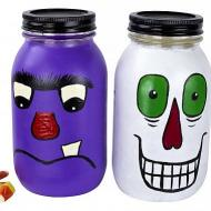 Monster Treat Mason Jars