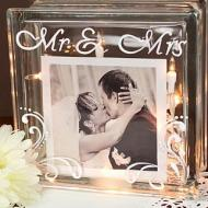 Mr. and Mrs. Glass Cube