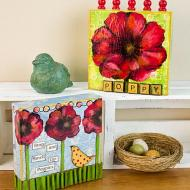 Poppy Canvases