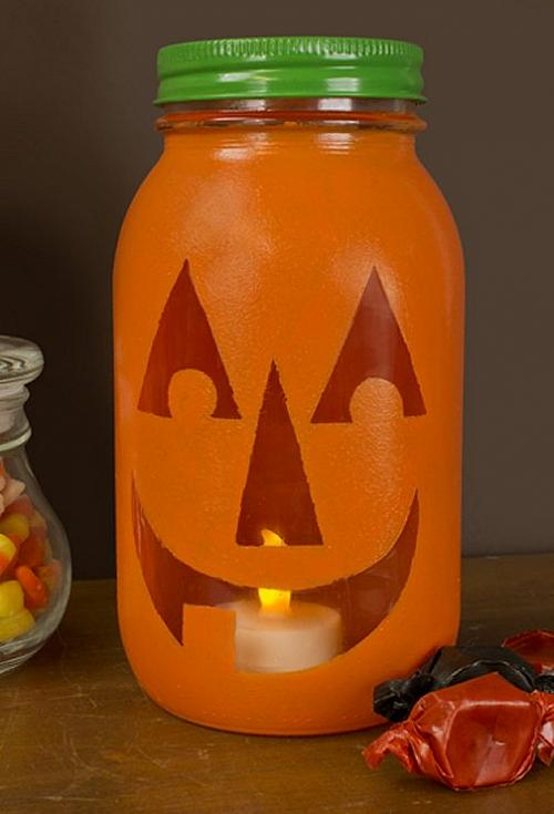 Jack O Lantern Canning Jar Project By Decoart