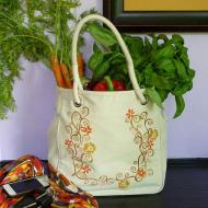 Rope-Handled Fall Tote