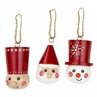Scandinavian People Ornaments
