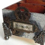Steam Punk Storage Box