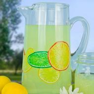 Tall Citrus Pitcher