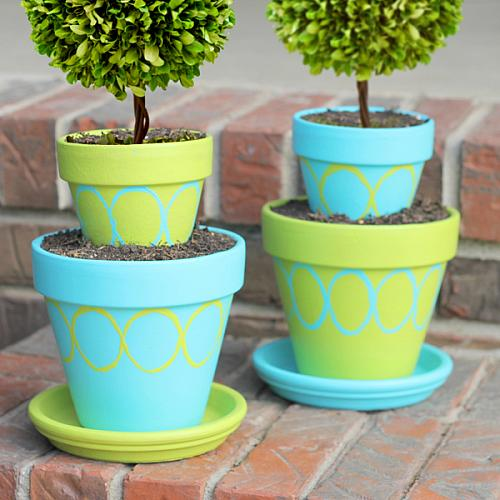 Tiered Pot Accents