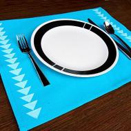 Triangle Border Placemat