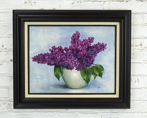 Flower Canvas Painting Tutorial
