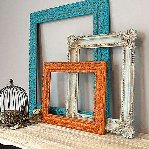 Redo Frame Trio With Chalky Finish Project By Decoart