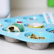 Sewing Organization Muffin Pan