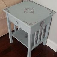 Spruced-Up Side Table