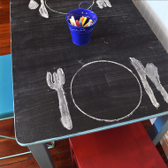 Chalkboard Play Table