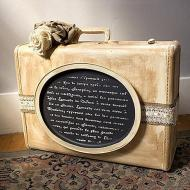 Distressed Vintage Suitcase