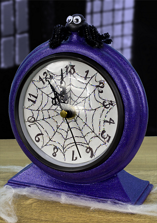 Paint And Primer >> Thirteen O'Clock Halloween Clock - Project by DecoArt