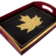 Maple Leaf Tray