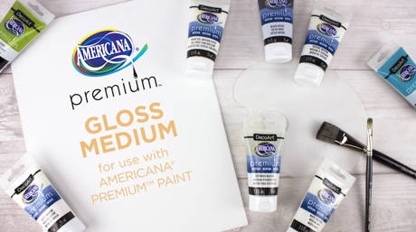 Americana Premium Mediums: Gloss Medium