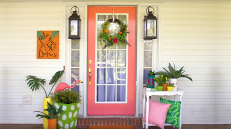 Add Palm Spring Style to Your Porch