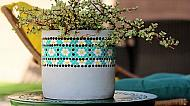 DIY Dot Art Planter
